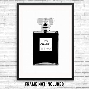 No. 5 Chanel Poster - Tapestry Girls