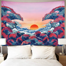 Load image into Gallery viewer, Ocean Sunset Tapestry - Tapestry Girls