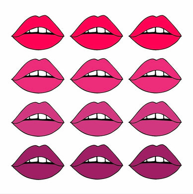 Ombre Lips Poster - Tapestry Girls