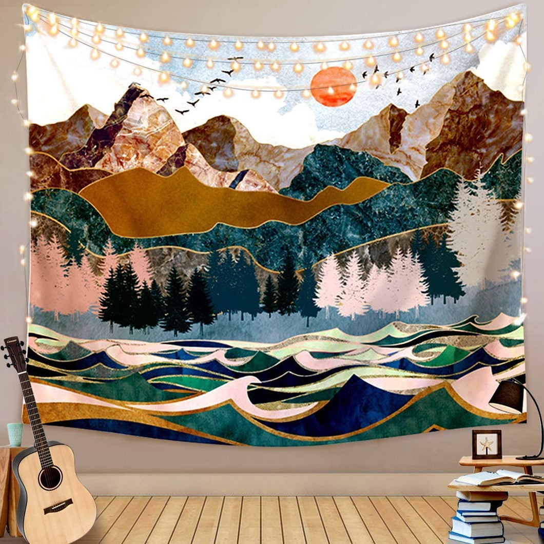Out To Sea Tapestry - Tapestry Girls