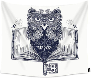 Owl of Knowledge Tapestry - Tapestry Girls