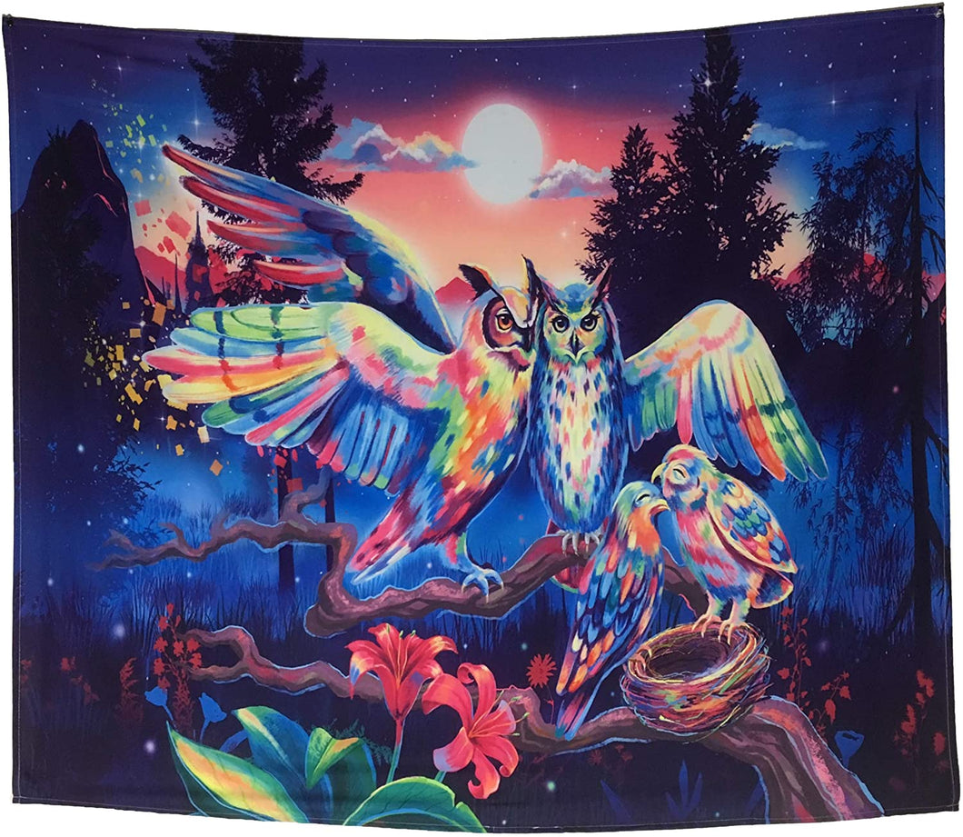 Owls Of The Night Tapestry - Tapestry Girls