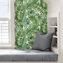 Load image into Gallery viewer, Iconic Palm Leaf Removable Wallpaper - Tapestry Girls