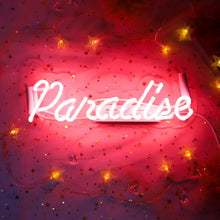 Load image into Gallery viewer, Paradise Neon Sign - Tapestry Girls