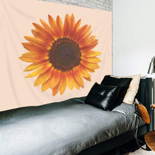 Load image into Gallery viewer, Peach Sunflower Tapestry - Tapestry Girls
