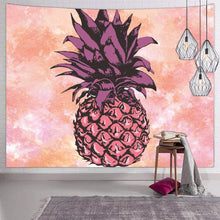 Load image into Gallery viewer, Pineapple Pink Tapestry - Tapestry Girls