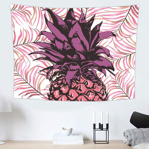 Pineapple Purple Tapestry - Tapestry Girls