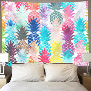 Pineapple Multi Tapestry - Tapestry Girls