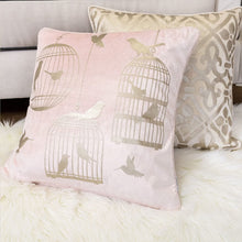 Load image into Gallery viewer, Pink Bird Luxury Pillow - Tapestry Girls