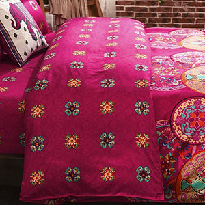 Pink Bohemian Bedding - Tapestry Girls