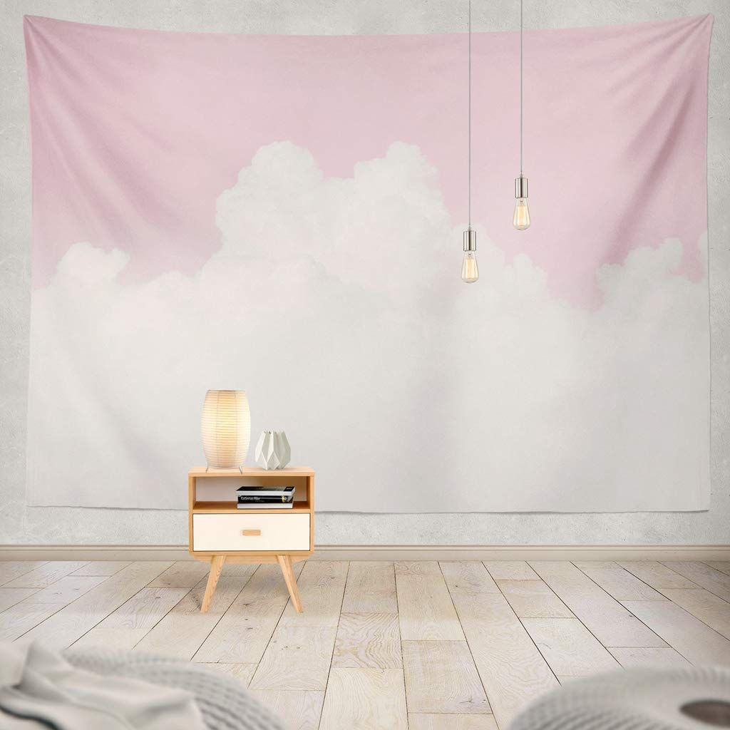 Pink Cumulus Tapestry - Tapestry Girls
