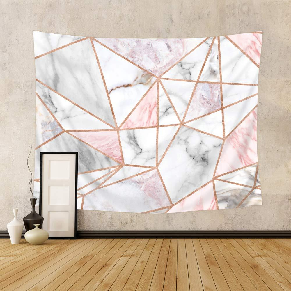 Pink Geometric Tapestry - Tapestry Girls