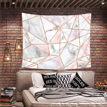 Load image into Gallery viewer, Pink Geometric Tapestry - Tapestry Girls