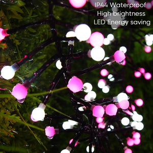 Pink Globe Lights - Tapestry Girls