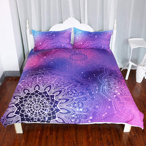Pink Galaxy Bedding - Tapestry Girls