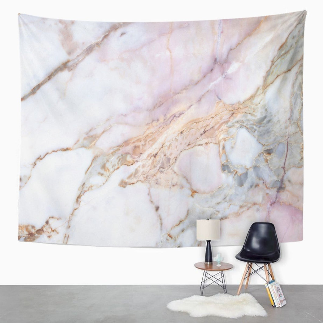Pink Marble Tapestry - Tapestry Girls