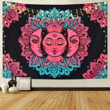 Load image into Gallery viewer, Pink Sun Tapestry - Tapestry Girls