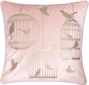 Pink Bird Luxury Pillow - Tapestry Girls