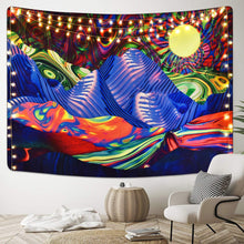 Load image into Gallery viewer, Psychedelic Mountain Tapestry - Tapestry Girls
