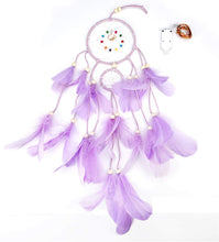 Load image into Gallery viewer, Purple Dreamcatcher w/Lights - Tapestry Girls