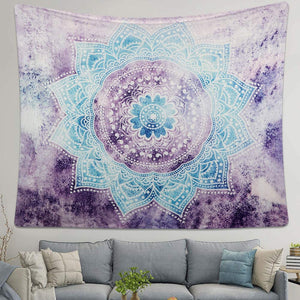 Purple Teal Tapestry - Tapestry Girls