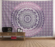 Load image into Gallery viewer, Purple Bohemian Tapestry - Tapestry Girls