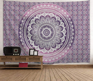 Purple Bohemian Tapestry - Tapestry Girls