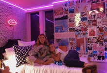 Load image into Gallery viewer, Edge LED Purple Lights - Tapestry Girls