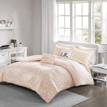 Load image into Gallery viewer, The Metallic Rose Gold Bed Set - Tapestry Girls