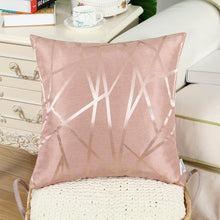 Load image into Gallery viewer, Metallic Décor Rose Gold Pillows - Tapestry Girls