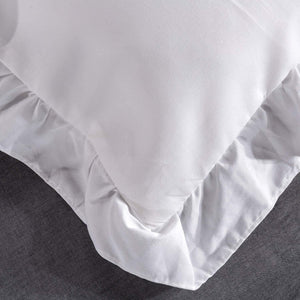 The Ruffled White Bed Set - Tapestry Girls