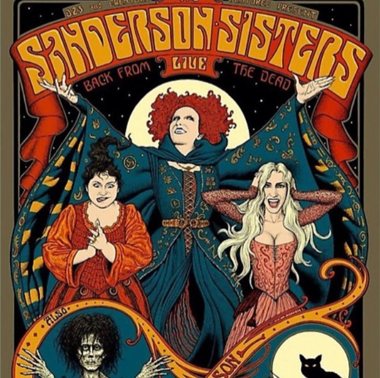 Sanderson Sisters Poster - Tapestry Girls
