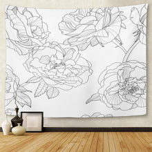 Load image into Gallery viewer, Silhouette Rose Tapestry - Tapestry Girls