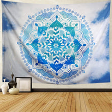Load image into Gallery viewer, Sky Mandala Tapestry - Tapestry Girls