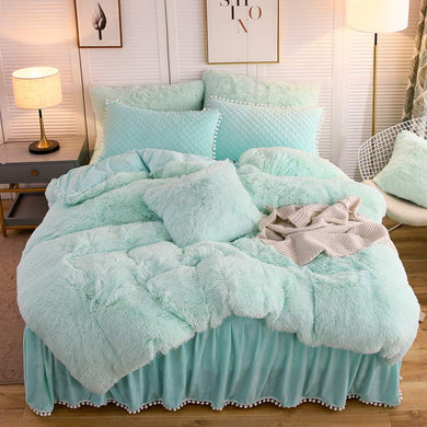 The Softy Cool Mint Bed Set - Tapestry Girls