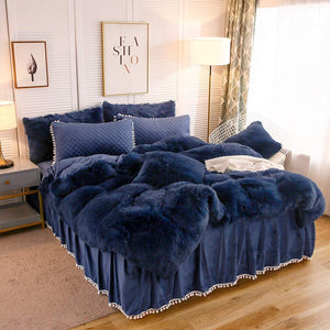 The Softy Blue Bed Set - Tapestry Girls