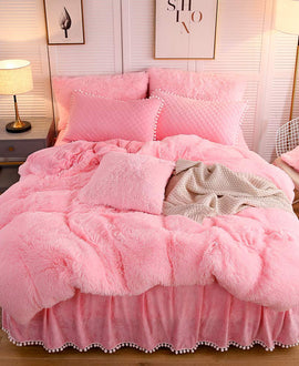 The Softy Pink Bed Set
