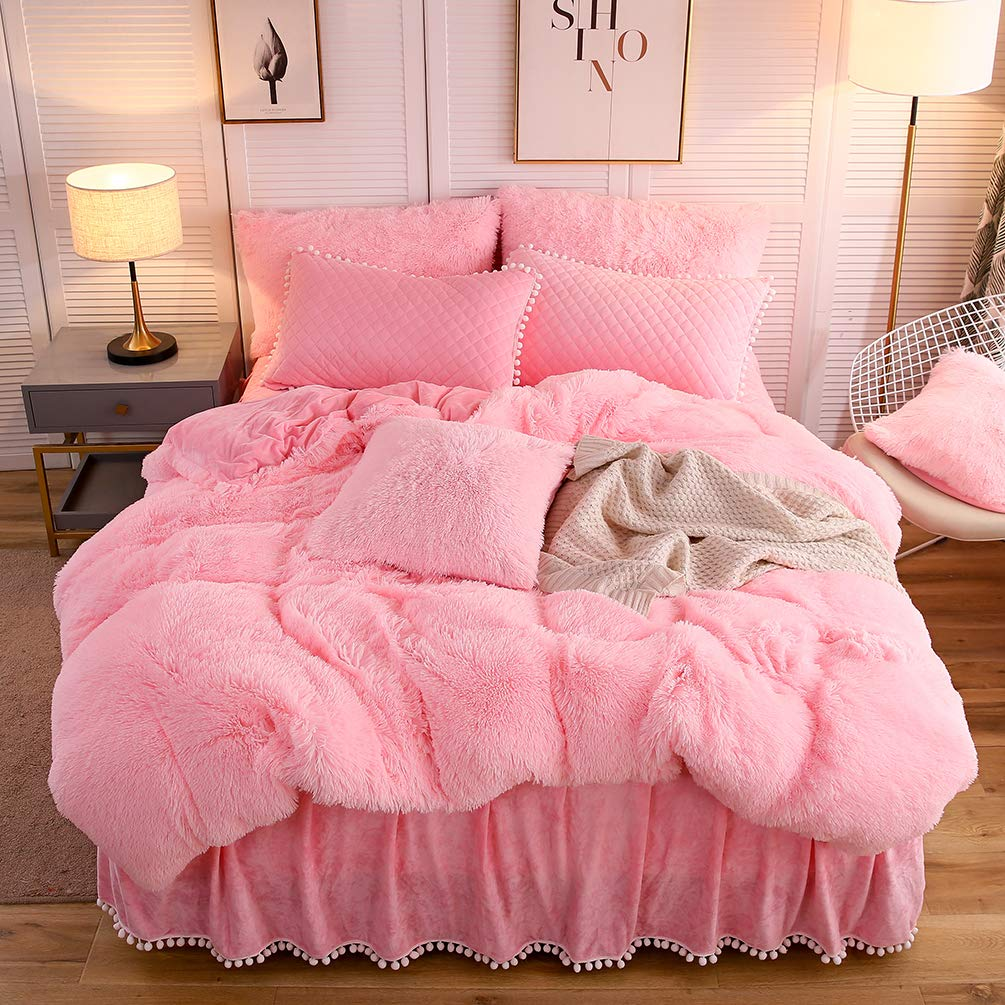 The Softy Pink Bed Set - Tapestry Girls