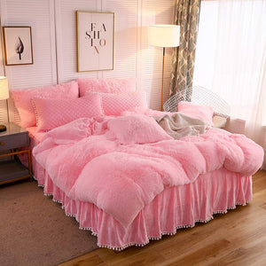 Softy Pink Bed Set - Tapestry Girls