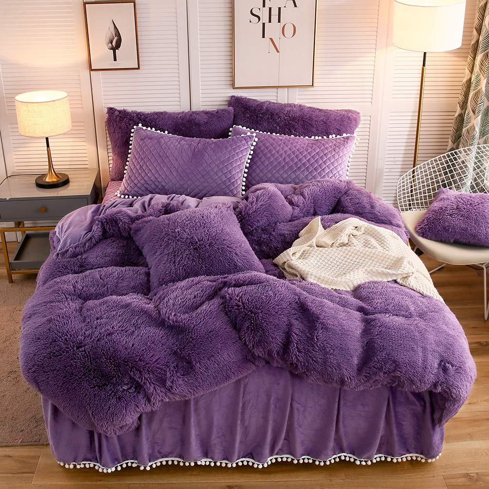 The Softy Purple Bed Set - Tapestry Girls