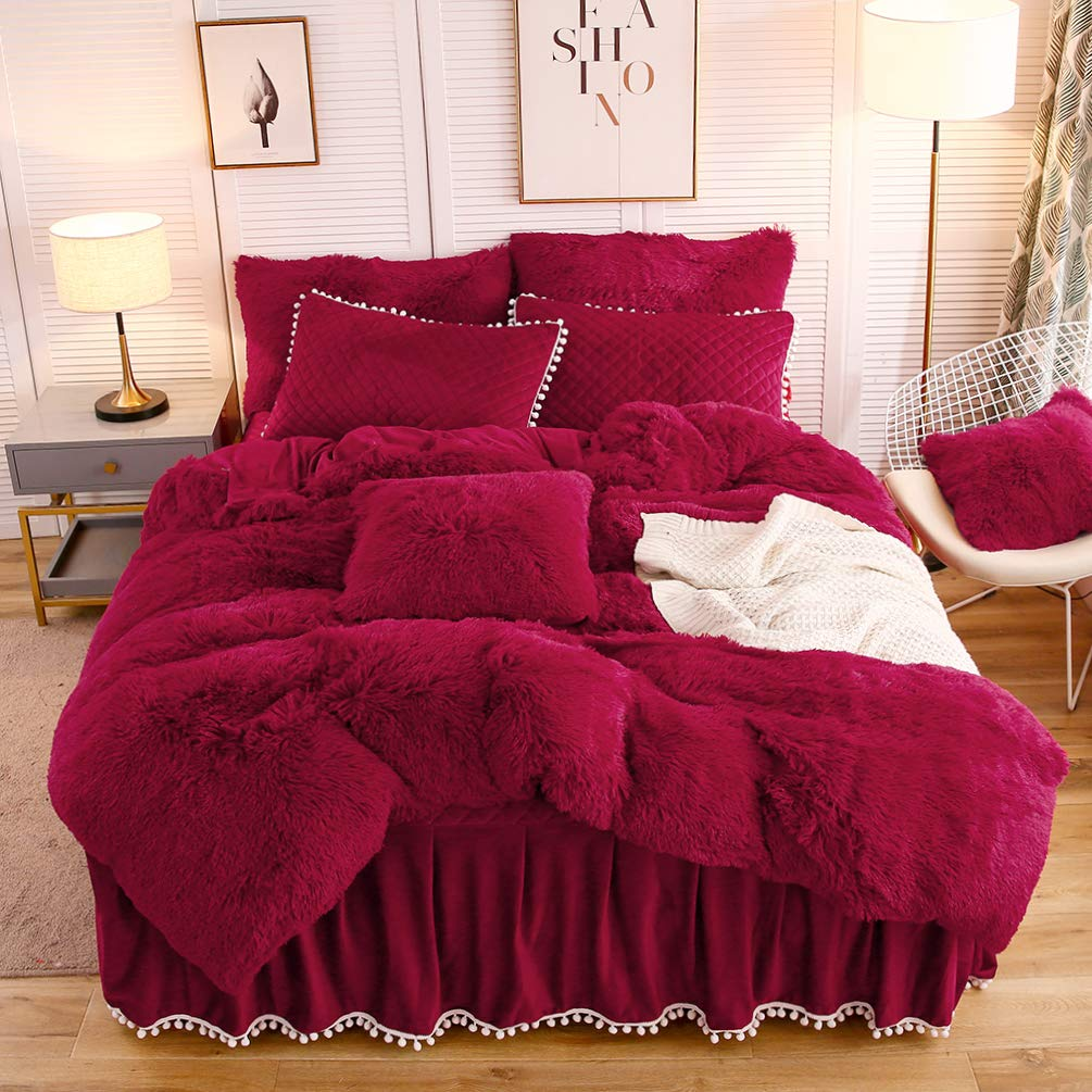 The Softy Red Bed Set - Tapestry Girls