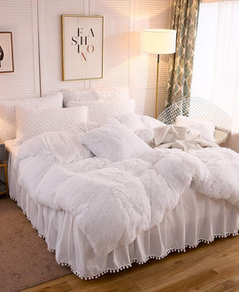 The Softy White Bed Set