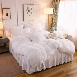 Softy White Bed Set - Tapestry Girls