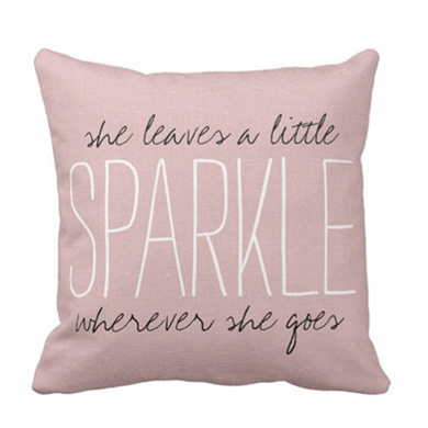 Sparkle Pillow - Tapestry Girls