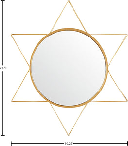 Gold Star Mirror