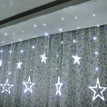 Load image into Gallery viewer, Star Curtain White Lights - Tapestry Girls