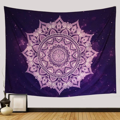 Star Night Purple Tapestry - Tapestry Girls