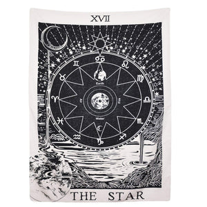 Tarot Star Tapestry - Tapestry Girls