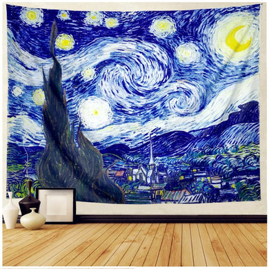 Starry Night Tapestry - Tapestry Girls