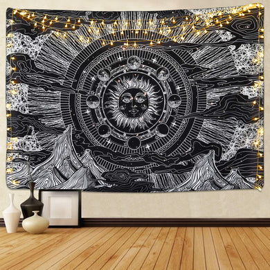 Sun Eclipse Tapestry - Tapestry Girls